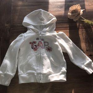 Baby Gap zip up hoodie